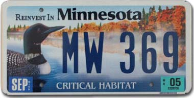 State bird of minnesota common loon for How much is a minnesota fishing license