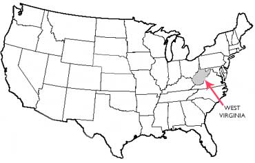 The Mountain State State Symbols USA - Va which state in usa