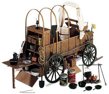 Texas state vehicle chuck wagon for Covered wagon plans