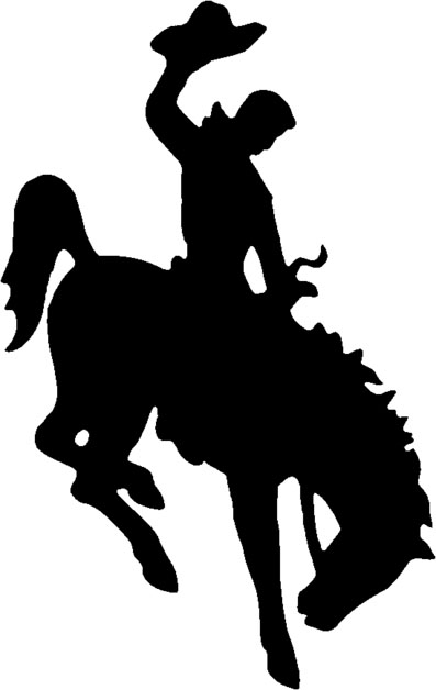 Wyoming S Registered Trademark Bucking Horse And Rider