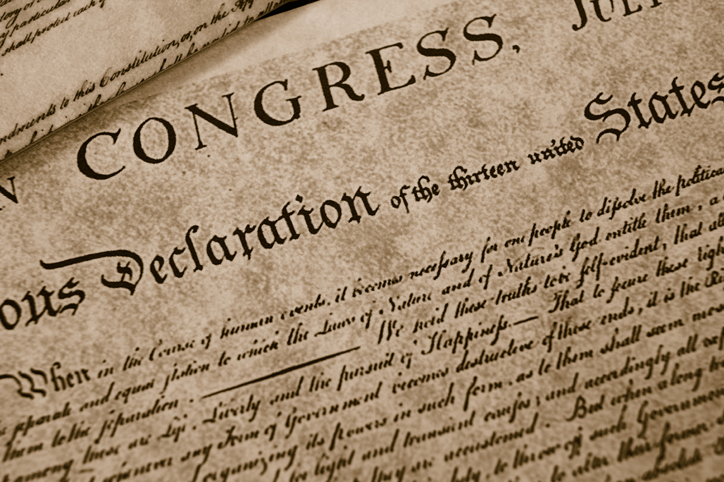 the declaration What kind of a document is the declaration of independence how do the parts and structure of the document make for a good argument about the necessity of independence.