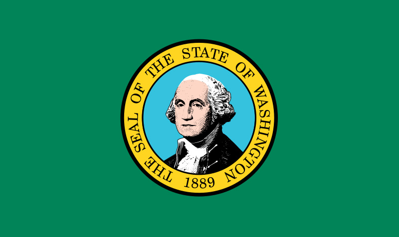 Washingtons Flag The Only State Flag That Displays An Image Of