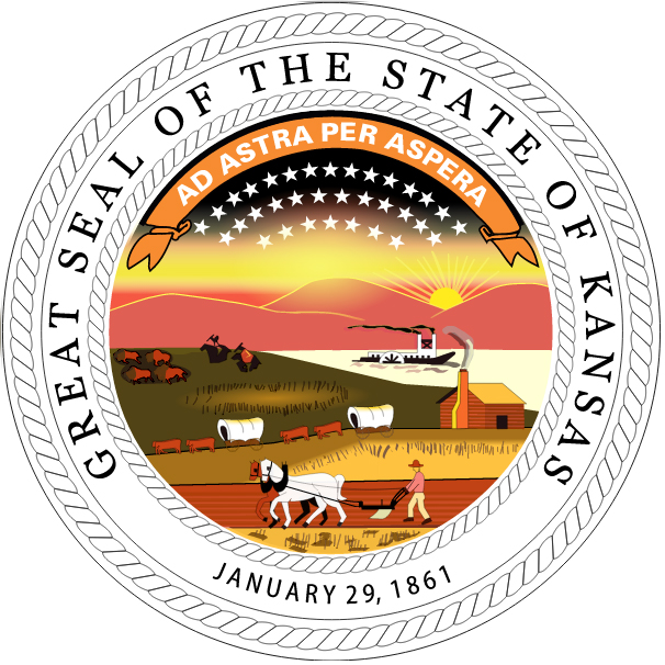 Image result for STATE seal of ks