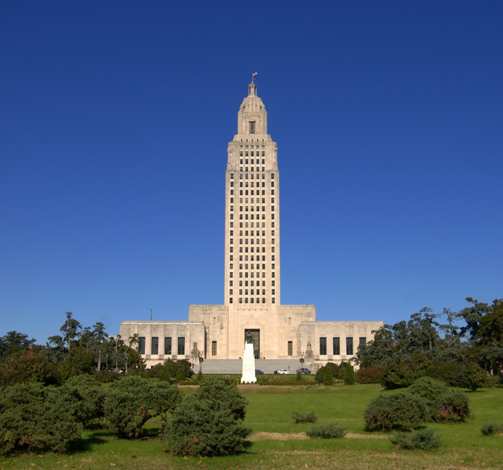 Louisiana State Capital Baton Rouge