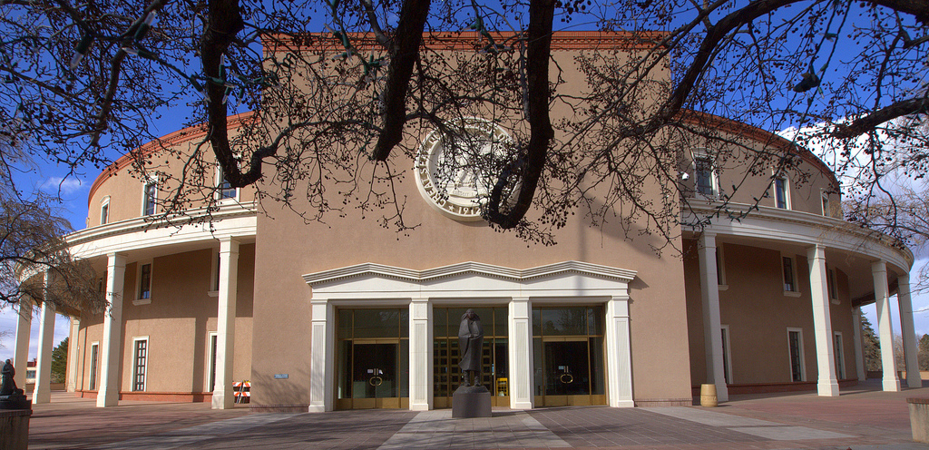 New mexico state capital santa fe new mexico capitol building in santa fe publicscrutiny Choice Image