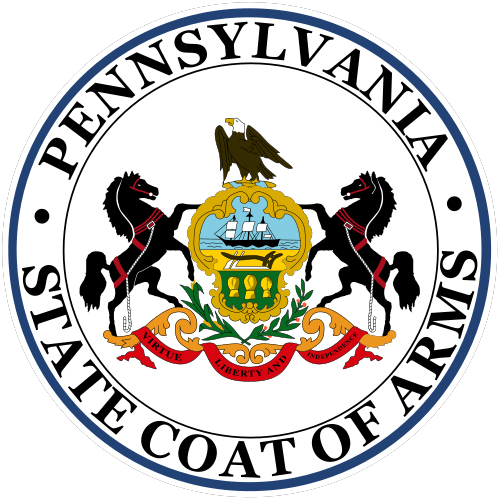 Pennsylvania State Coats Of Arms