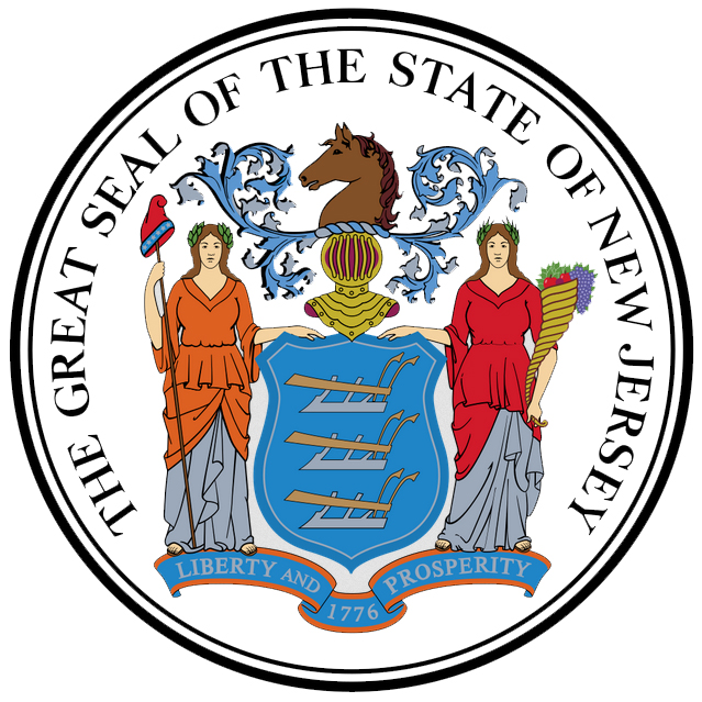 Image result for state seal of NJ