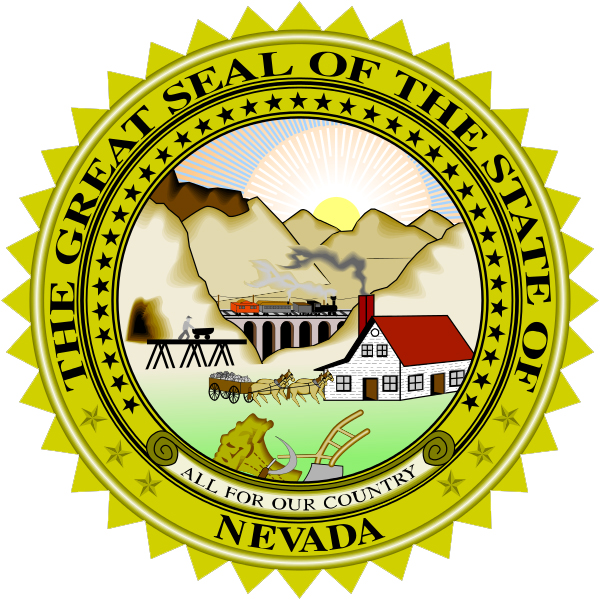 Nevada State Seal Coloring Pages