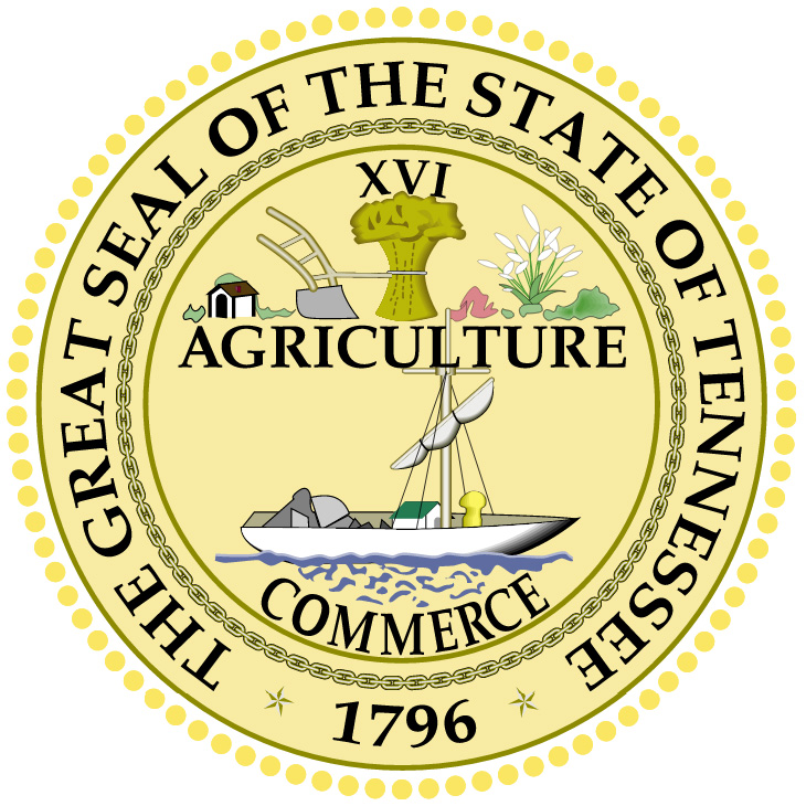Seal of Tennessee   State Symbols USA