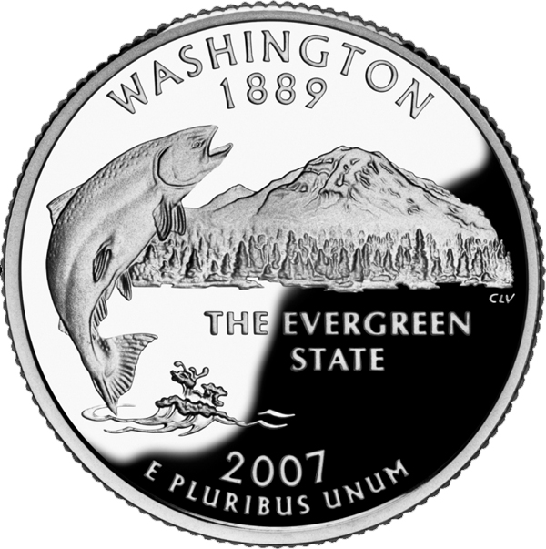 The Evergreen State >> Washington State Nickname The Evergreen State