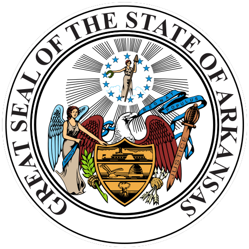 Seal Of Arkansas State Symbols USA