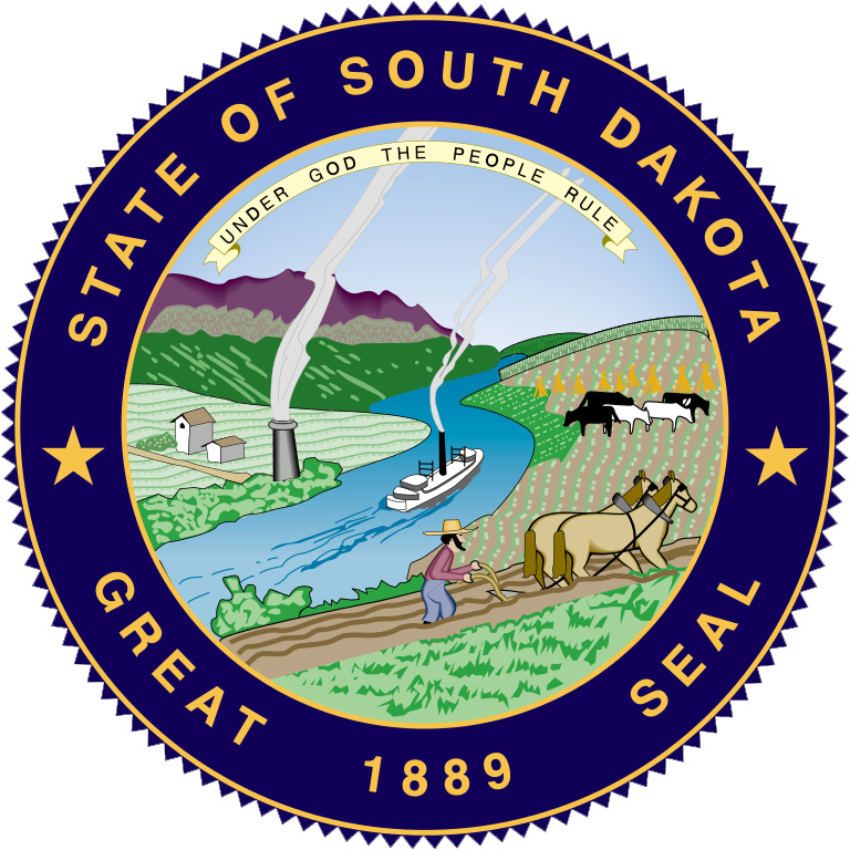 Image result for state seal of SD