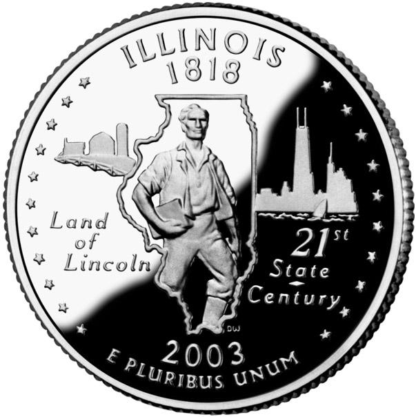 Land Of Lincoln State Slogan State Symbols Usa