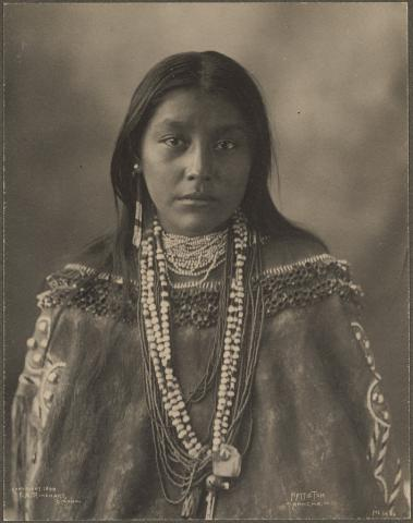 Apache woman Hatie Tom