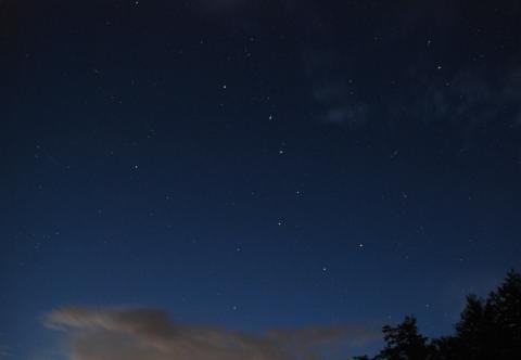 Ursa Major or The Big Dipper constellation