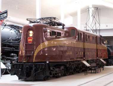 Pennsylvania Railroad GG-1 Electric Locomotive, PRR 4890