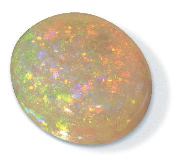 Virgin Valley black fire opal