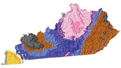 Kentucky geology and topography