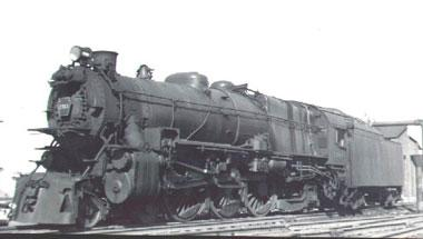 K4 1361 Steam locomotive