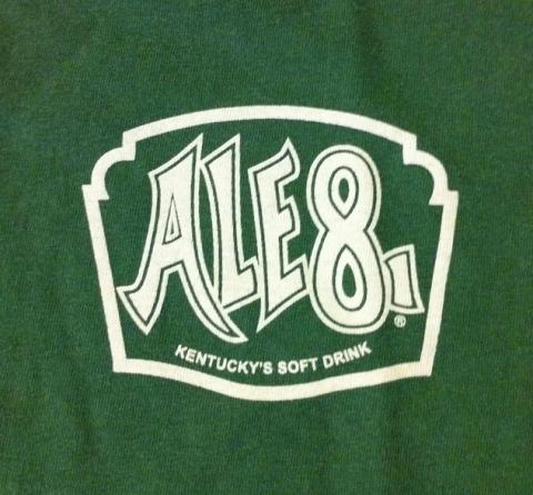 Ale-8-1 logo; official state soft drink of Kentucky