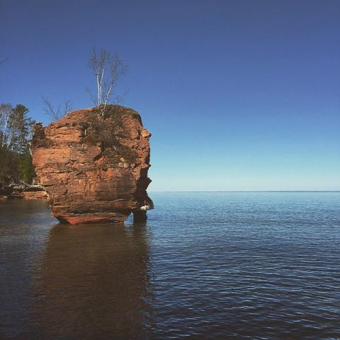 Apostle Islands National Lakeshore, Lake Superior, Wisconsin