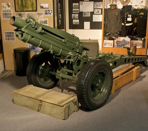 Canon at California Military Museum in Sacramento