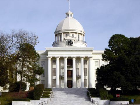State Capitol in Montgomery, Alabama