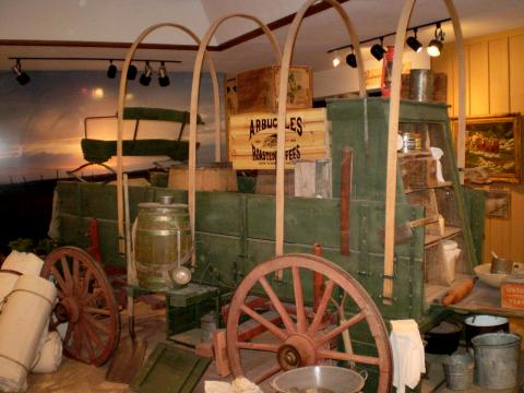 Frontier chuck wagon (the state vehicle of texas)