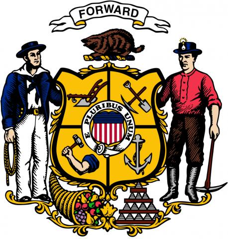 Wisconsin official state coat of arms