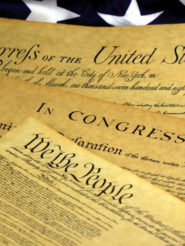 The U.S. Constitution, Declaration of Independence, and the Bill of Rights