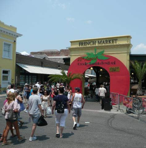Creole Tomato Festival in New Orleans