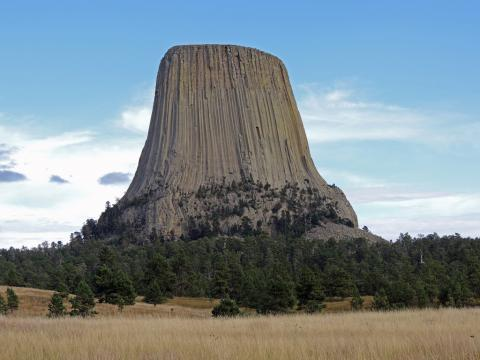 Devils Tower Natural Landmark, Wyoming