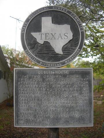 Dubuis House Marker