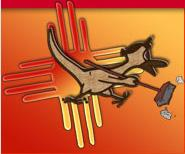 Dusty Roadrunner; New Mexico's clean-up mascot