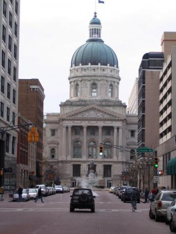 Indiana State Capitol in Indianapolis