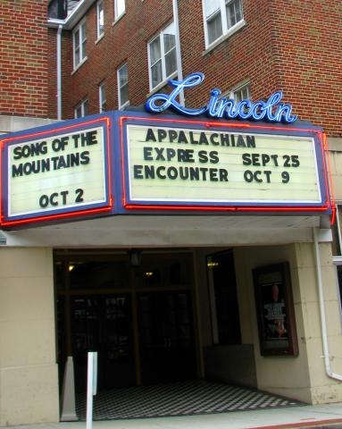 Lincoln Theater in Marion VA