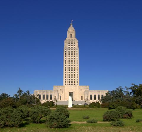 Louisiana Capitol in Baton Rouge