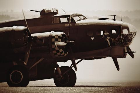 The Memphis Belle airplane