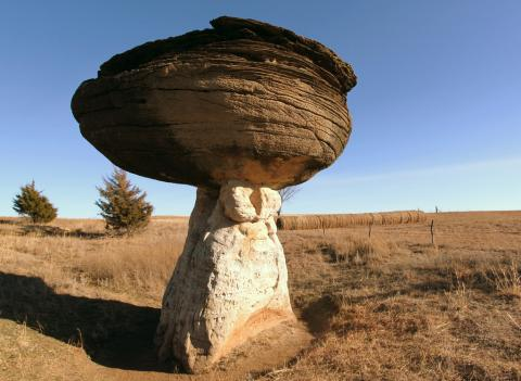 Mushroom Rock State Park, Ellsworth County, Kansas