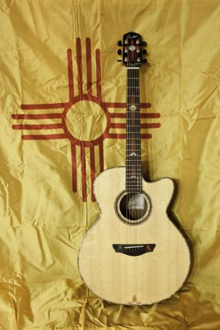 New Mexico sunrise guitar
