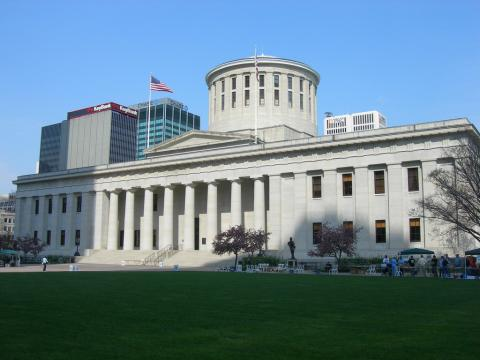 Ohio State Capitol in Columbus