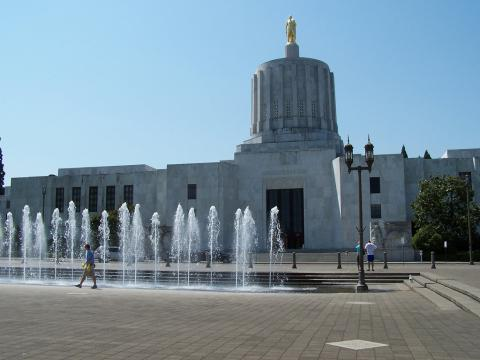 Oregon State Capitol in Salem