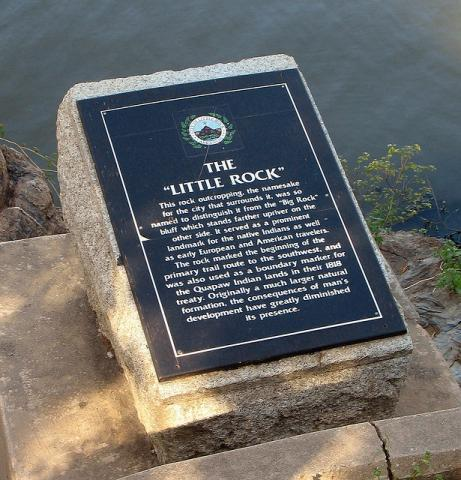 Little Rock, Arkansas Historic Marker