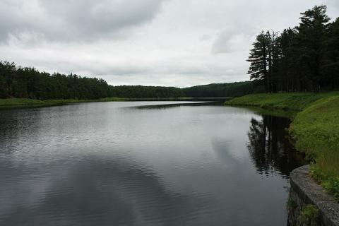 Reservoir near Paxton, Massachusetts