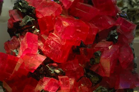 Rhodochrosite from the Sweet Home Mine in Alma, Colorado