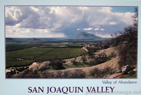 San Joaquin Valley, California