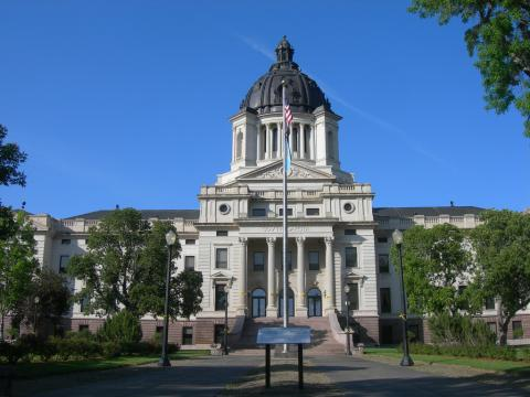 South Dakota State Capitol in Pierre