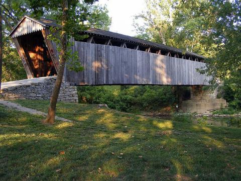 Switzer Covered Bridge in Franklin County, Kentucky