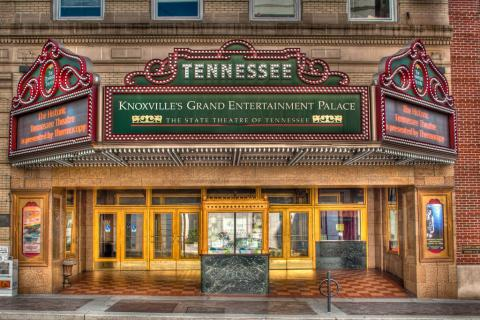 Entrance to Tennessee Theatre