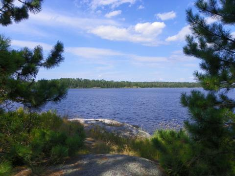 Kabetogama Lake, Voyageurs National Park, Minnesota